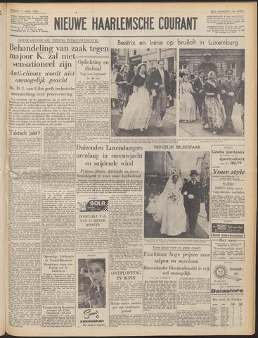 Nieuwe Haarlemsche Courant 1958-04-11