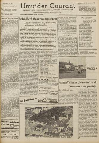IJmuider Courant 1939-12-02