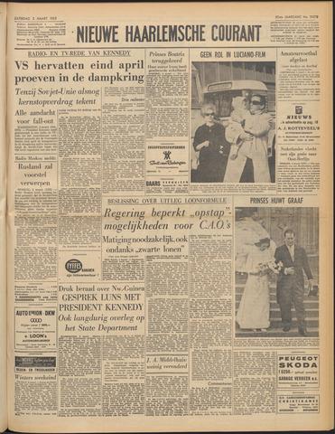 Nieuwe Haarlemsche Courant 1962-03-03