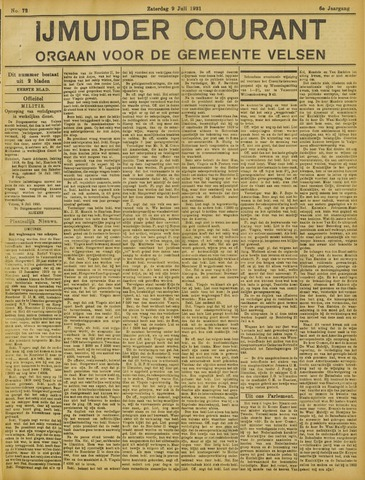 IJmuider Courant 1921-07-09