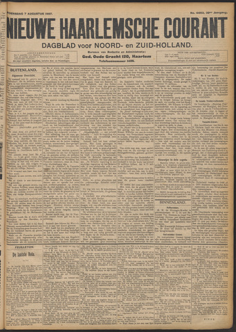 Nieuwe Haarlemsche Courant 1907-08-07