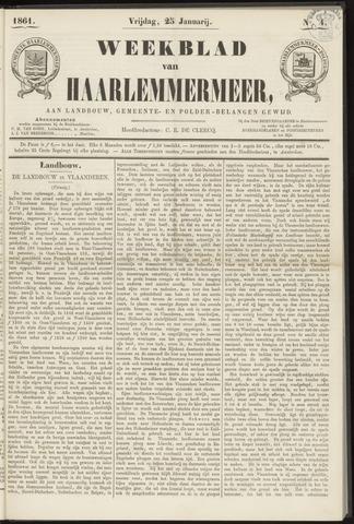 Weekblad van Haarlemmermeer 1861-01-25