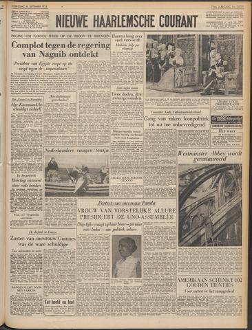 Nieuwe Haarlemsche Courant 1953-09-16