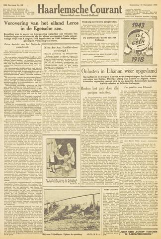Haarlemsche Courant 1943-11-18