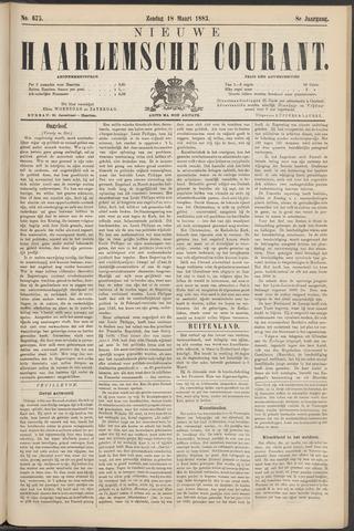 Nieuwe Haarlemsche Courant 1883-03-18
