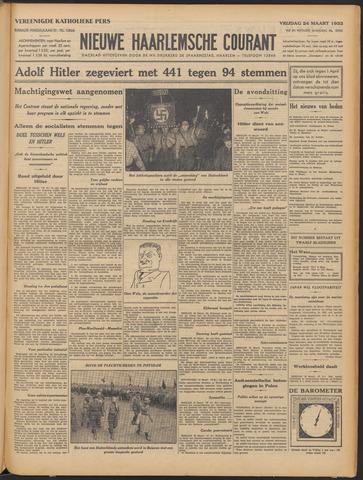 Nieuwe Haarlemsche Courant 1933-03-24