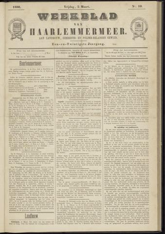Weekblad van Haarlemmermeer 1880-03-05