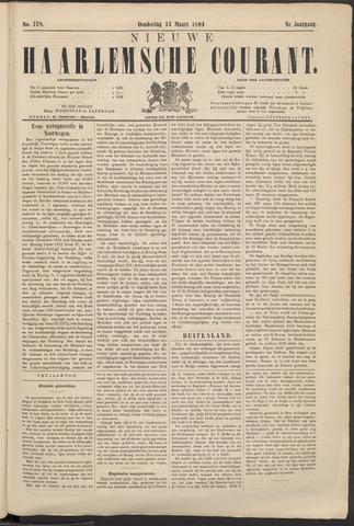 Nieuwe Haarlemsche Courant 1884-03-13
