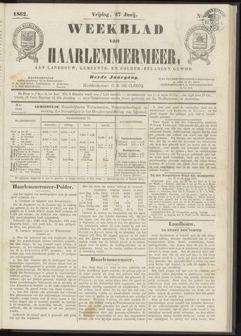 Weekblad van Haarlemmermeer 1862-06-27