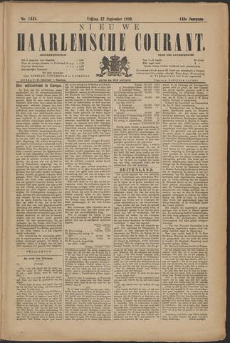 Nieuwe Haarlemsche Courant 1889-09-27