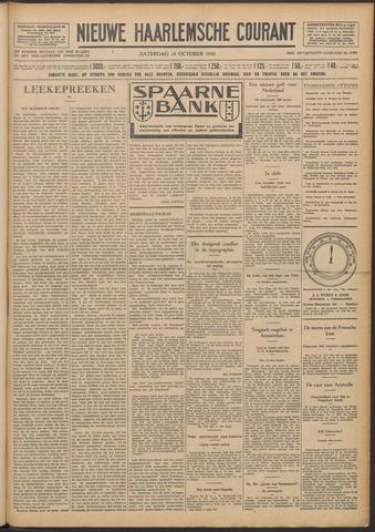 Nieuwe Haarlemsche Courant 1930-10-18
