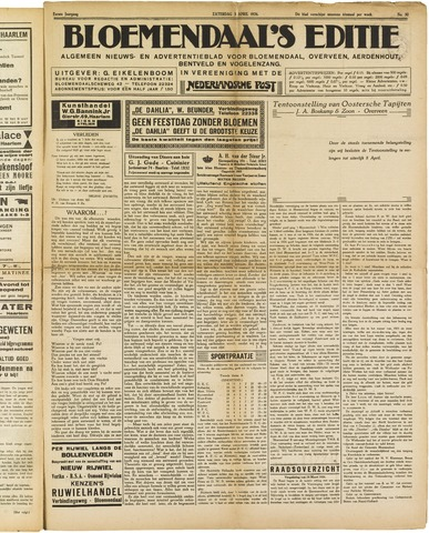 Bloemendaal's Editie 1926-04-03