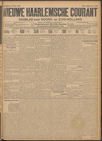 Nieuwe Haarlemsche Courant 1909-09-25