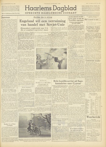 Haarlem's Dagblad 1954-03-12