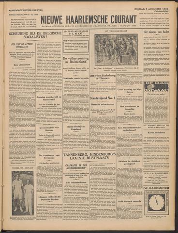 Nieuwe Haarlemsche Courant 1934-08-05