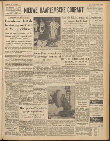 Nieuwe Haarlemsche Courant 1958-07-26