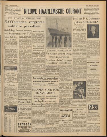 Nieuwe Haarlemsche Courant 1961-09-08