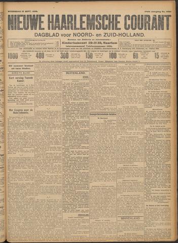 Nieuwe Haarlemsche Courant 1909-09-15