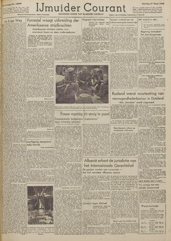 IJmuider Courant 1948-03-27