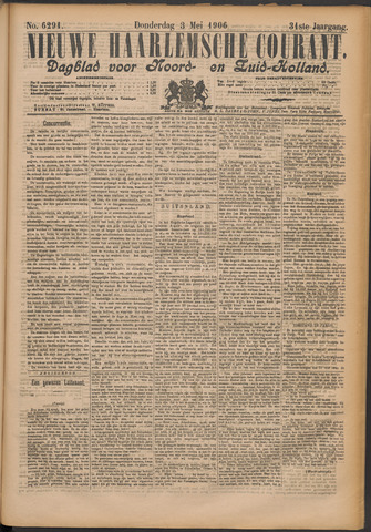 Nieuwe Haarlemsche Courant 1906-05-03