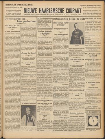 Nieuwe Haarlemsche Courant 1933-02-21
