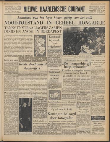 Nieuwe Haarlemsche Courant 1956-10-25