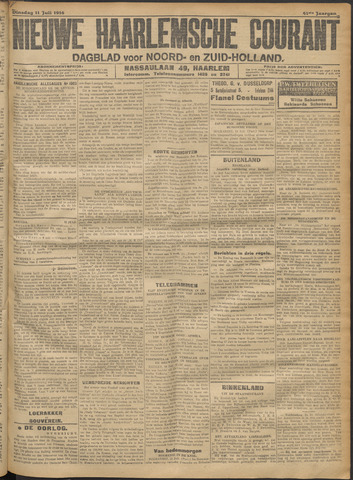 Nieuwe Haarlemsche Courant 1916-07-11