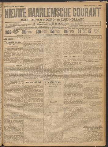 Nieuwe Haarlemsche Courant 1911-09-21