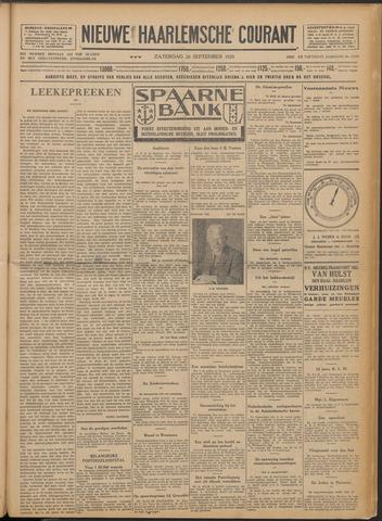 Nieuwe Haarlemsche Courant 1929-09-28