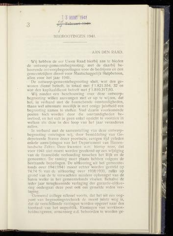 Raadsnotulen Heemstede 1941-03-13