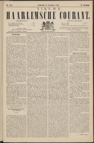 Nieuwe Haarlemsche Courant 1883-11-15