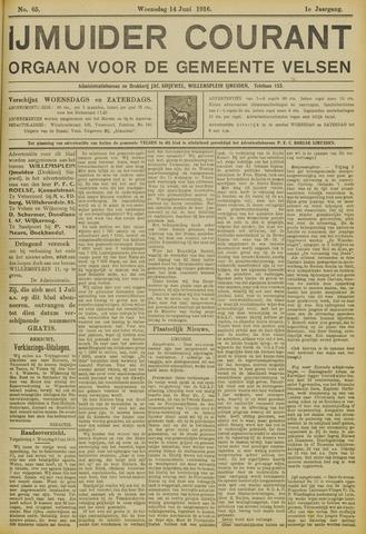 IJmuider Courant 1916-06-14