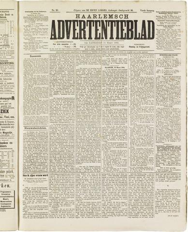 Haarlemsch Advertentieblad 1882-03-11