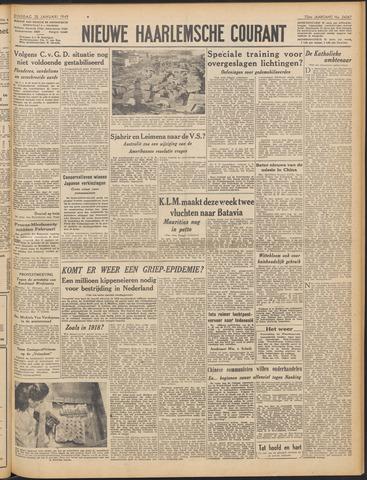 Nieuwe Haarlemsche Courant 1949-01-25
