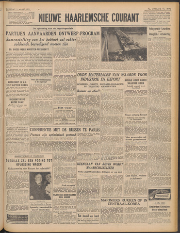 Nieuwe Haarlemsche Courant 1951-03-03