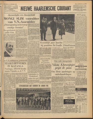 Nieuwe Haarlemsche Courant 1961-09-21