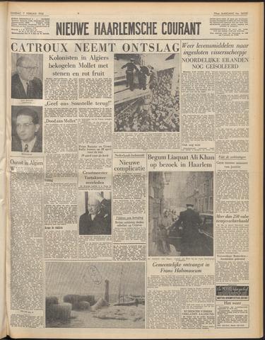 Nieuwe Haarlemsche Courant 1956-02-07
