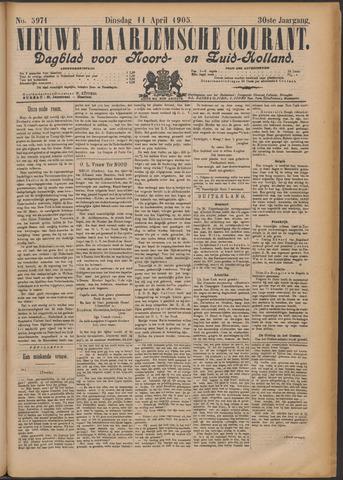 Nieuwe Haarlemsche Courant 1905-04-11