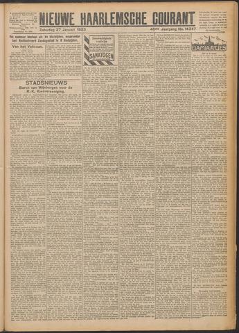 Nieuwe Haarlemsche Courant 1923-01-27