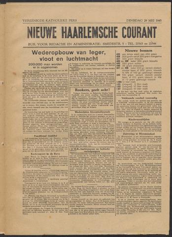 Nieuwe Haarlemsche Courant 1945-05-29