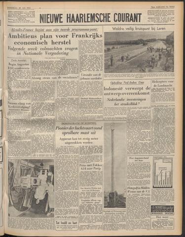 Nieuwe Haarlemsche Courant 1954-07-29