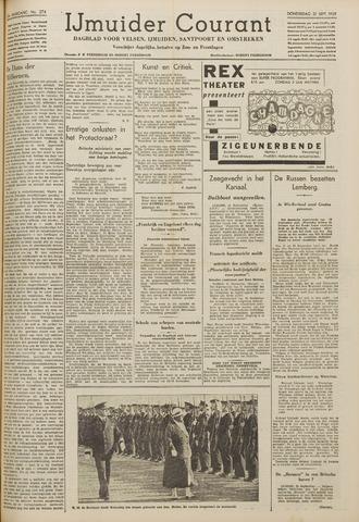 IJmuider Courant 1939-09-21