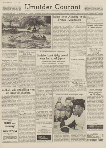 IJmuider Courant 1959-06-04