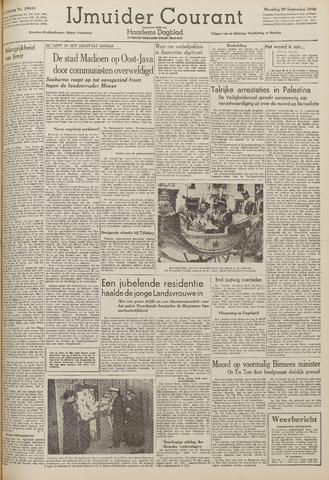 IJmuider Courant 1948-09-20