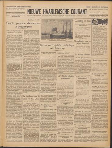 Nieuwe Haarlemsche Courant 1940-12-03