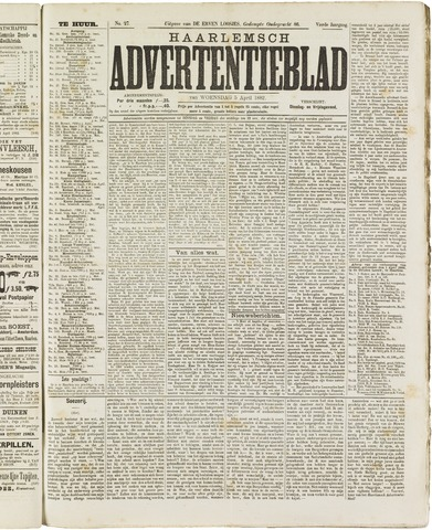 Haarlemsch Advertentieblad 1882-04-05