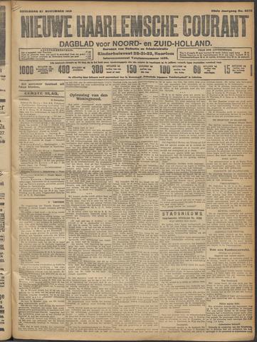 Nieuwe Haarlemsche Courant 1913-11-27