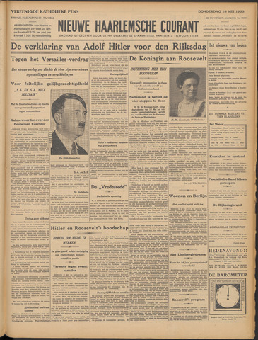 Nieuwe Haarlemsche Courant 1933-05-18