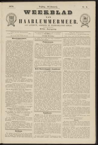 Weekblad van Haarlemmermeer 1870-01-14