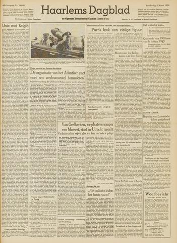 Haarlem's Dagblad 1950-03-02